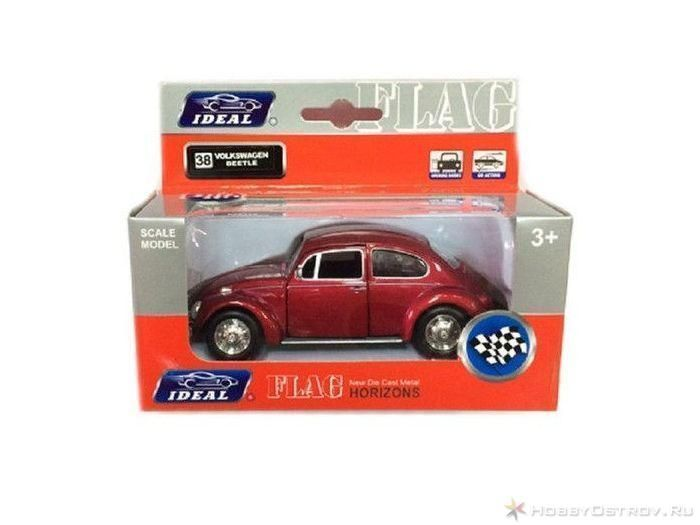 Машина Ideal 1:43 Volkswagen The Beetle