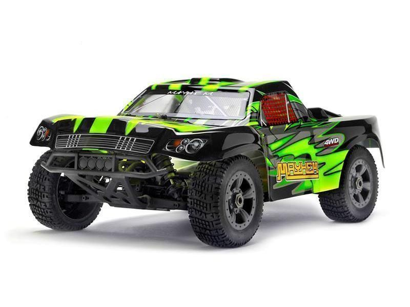 Р/У Шорт-корс Himoto Mayhem Brushless 4WD 2.4GHz 1/8 RTR + Li-Po и З/У