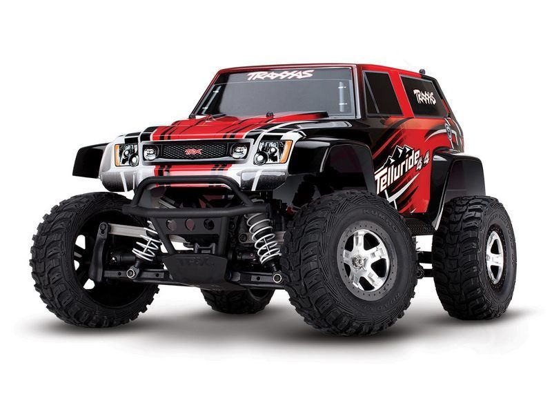 Р/У Монстр Traxxas Telluride 4WD 2.4GHz 1/10 RTR + NEW Fast Charger