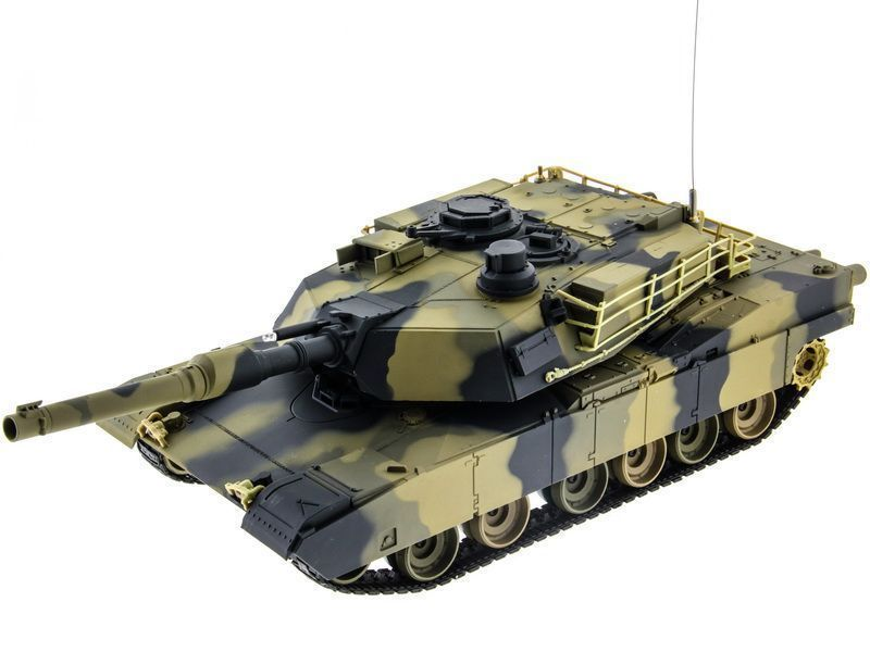 Р/У танк Heng Long 1/24 Battle M1A1 ABRAMS RTR