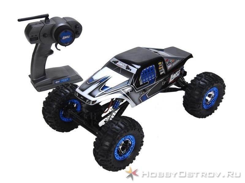 Р/У Краулер Losi Night Crawler 4WD 2.4GHz 1/10 RTR Черный