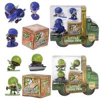 Игрушка Awesome Little Green Men 4 фигурки