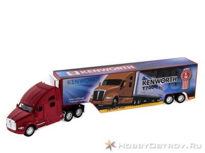 Машина KINSMART 1:40 Keworth T700 инерция  в/к