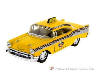 "Машина KINSMART ""1957 Chevrolet Bel Air"" инерция (1/12шт.) 1:36 б/к"