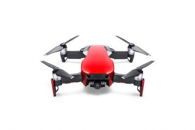 Р/у Складной квадрокоптер DJI MAVIC AIR FLY MORE COMBO (Flame Red)